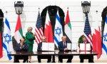 """Los denominados """"Acuerdos de Abraham"""", que suponían el establecimiento de relaciones diplomáticas entre Emiratos Árabes Unidos y Bahrein con el Estado de Israel"""