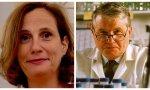 Ilaria Capua y Luc Montagnier