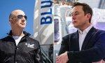 Jeff Bezos y Elon Musk, dos multimillonarios a la caza del espacio