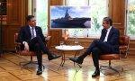 Sánchez se reunió en Atenas con el primer ministro griego, Kyriakos Mitsotakis: presumió de colaboración entre ambos países, también en lo que a industria naval se refiere. ¡Vaya tino, señor presidente!