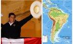 Hispanoamérica, otra vez marxista y cristófoba: Pedro Castillo, entronizado en Perú
