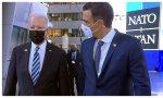 El senil Biden humilla al ególatra Sánchez