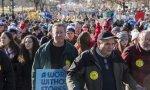 Marcha de hombres contra el aborto