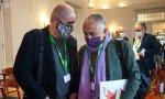 Unai Sordo (derecha) y Pepe Álvarez están de acuerdo en todo o en casi todo