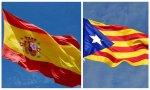 Bandera de España y Estelada