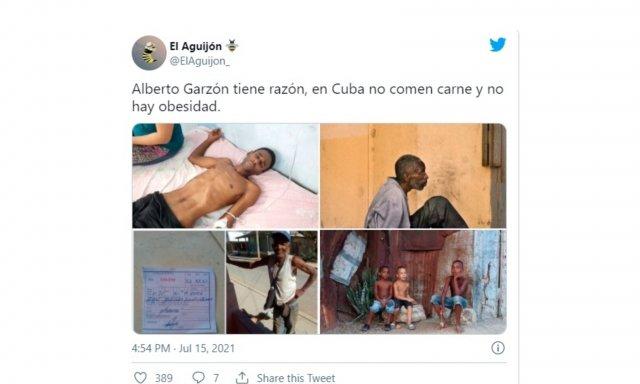 ¿En Cuba se pasa hambre?...Sí, se pasa hambre