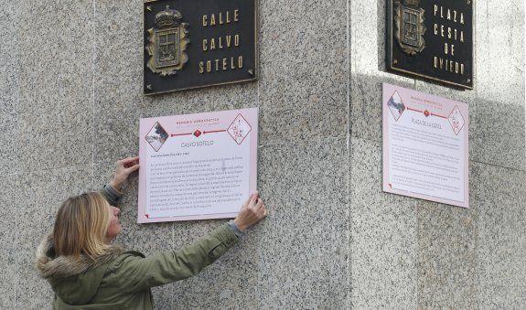 Oviedo. Así se promociona la Guerra Civil: Federico García Lorca por Calvo Sotelo