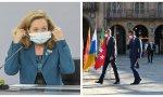 El dúo Sánchez-Calviño lanza la mayor campaña de propaganda son la economía española
