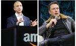 Jeff Bezos y Elon Musk (Amazon y Tesla) son los dos hombres más ricos del mundo