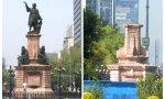 Hispanofobia, Ciudad de México sustituirá una imagen de Colón por una mujer indígena, esas mismas que eran asesinadas por los aztecas… y que fueron liberadas por los españoles