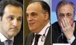 A Javier de Jaime y Javier Tebas les ha ganado el pulso Florentino Pérez, así como Joan Laporta y Josu Urrutia