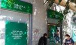 En plena ola de cierres de oficinas bancarias, el mensaje de esta sucursal de Eurocaja Rural no puede ser más atinado