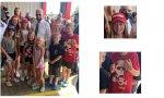 El presidente de EE.UU. se hizo una foto con un grupo de niños, algunos de ellos ataviados con camisetas y gorras pro-Trump. ¡Cuánto talante, Joe!