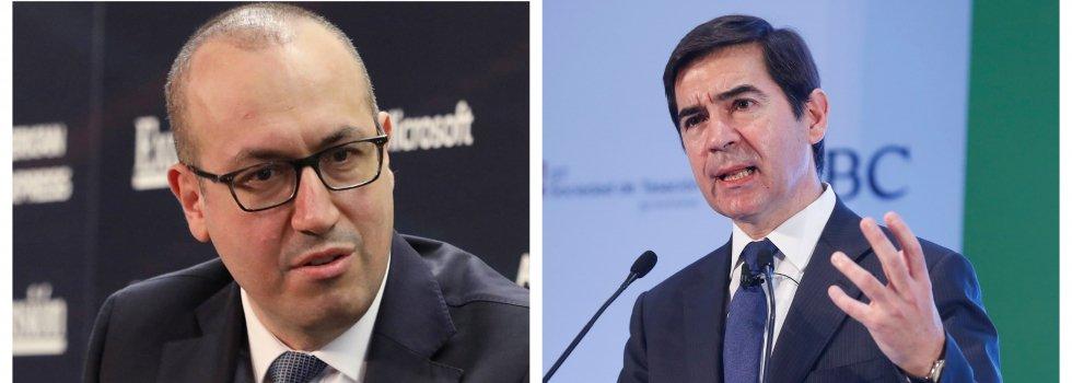 Carlos Torres y Onur Genç, presidente y Ceo, no se entienden