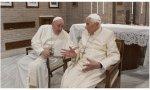 Los dos papas vivos, Francisco y Benedicto insisten en que el homomonio es un atentado, no sólo contra la naturaleza humana, sino también contra la historia