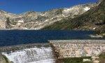 Imagen del lago Certascan en su llenado del 100%.