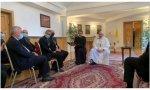 El Papa con los jesuitas en Bratislava (Eslovaquia)