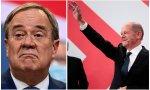 El Partido Socialdemócrata (SPD), con Olaf Scholz como candidato (derecha de la imagen), fue el más votado en las elecciones en Alemania. Mientras, los conservadores de Armin Laschet pierden un 8,8 %, un descenso histórico