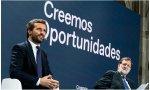 """Mariano Rajoy, todo delicadeza, concluye su parlamento con la afirmación de que, al igual que él arregló el desastre Zapatero, """"supongo que serás tú -a Pablo Casado- quien tendrás que arreglar"""" el desastre Sánchez"""