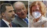 Los españoles pueden aplaudir a un rey abdicado por presunta corrupción pero no a un hijo que reniega de su padre para mantener el trono... ¿Por qué la Reina Sofía no visita más a su esposo en Abu Dabhi?