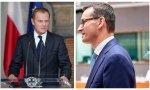 Tusk y ministro polaco