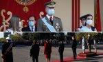 Aplausos para el Rey Felipe VI y sonada pitada para Pedro Sánchez