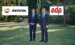 Josu Jon Imaz (Repsol) y Miguel Stilwell (EDP) acuerdan un paso más para sus compañías en el compromiso hacia la neutralidad de carbono