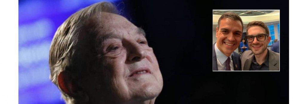 Según la Vanguardia Soros, el hombre que monitoriza a Pedro Sánchez -amigo a su vez de Alex Soros- y a otros líderes mundiales, es un paladín de la democracia, un ejemplo a seguir