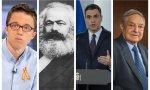 Errejón, Marx, Sánchez y Soros