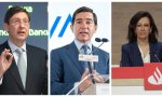 La expansión internacional de Caixabank, BBVA y Santader será -está siendo- digital: mucho más barata y con menos riesgo