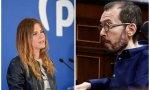 La diputada del PP Beatriz Fanjul ha respondido a un tuit del portavoz podemita en el Congreso, Pablo Echenique
