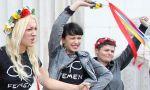 Las Femen: cochinas y violentas. Pero se exhiben poco