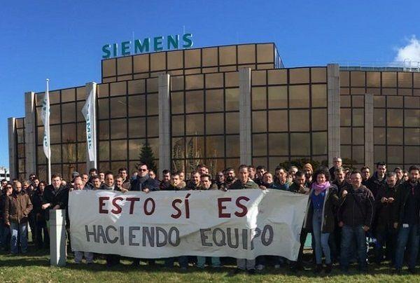 Siemens. La división ferroviaria también estalla