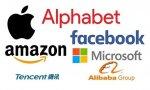 Apple, Google, Microsoft, Amazon y Facebook reinan en bolsa, pero ojo a las chinas Tencent y Alibaba