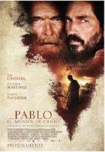 Cartel del filme Pablo, el apóstol de Cristo