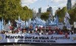 Contra el aborto en Argentina.