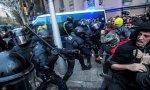 Enfrentamientos en Cataluña.