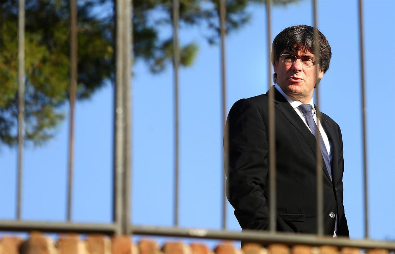 Puigdemont, entregado a la causa independentista... siempre y cuando no le perjudiquen las consecuencias