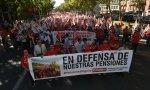 Manifestación de pensionistas. Pensiones, nuevo drama: préstamo de 15.000 millones