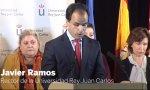 Javier Ramos. El rector sentencia: no consta ni el acta ni el trabajo de Cifuentes.