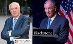 Rafael Miranda, presidente de Hispania, y Stephen Schwarzman, Ceo de Blackstone.