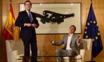 Rajoy y Rivera. políticamente y Ciudadanos no se puede apuntar el tanto.