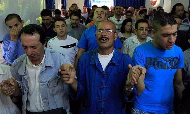 Cristianos en Argelia