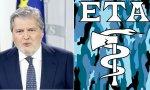 Méndez de Vigo y logo de ETA
