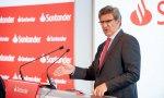 El Ceo del Santander, José Antonio Álvarez, resta importancia a la caída en bolsa del 3%. Santander: el beneficio de Reino Unido se desploma un 23%