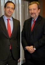 Gonzalo Gortázar, consejero delegado, y Tomás Muniesa, vicepresidente de Caixabank.