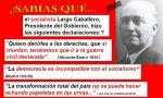 Largo Caballero. España no ha tenido mucha suerte con 'sus repúblicas'