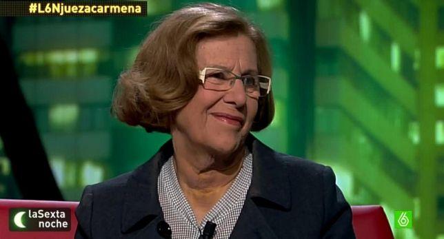 Podemos-Alcaldía de Madrid. La candidata Manuela Carmena, una de las 'culpables' de la absolución del doctor Montes