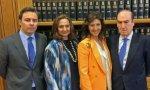 Dimas Gimeno, hermanas Alvarez Guil y Florencio Lasaga