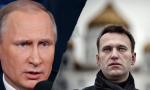 El presidente Putin y y el opositor Navalny.